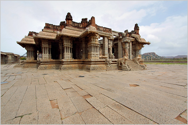vitthala temple - hampi - karnataka - india