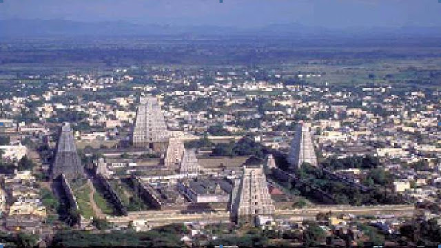 Magnificient view of Arunachalam temple