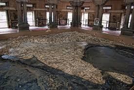 The 'Bharat Mata Mandir' in Varanasi has a unique marble map of 'Undivided  India' | Rebellion Voice